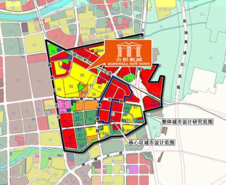 合和新城规划图-合和新城169 175平米超大户型单位即将推出