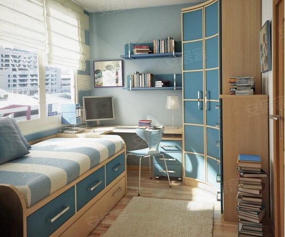 小房间装修效果图 儿童房装修效果图 小房间装修图片 女生