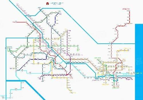 天津地铁线路图 最新 天津地铁规划线路图 天津地铁线路图图片