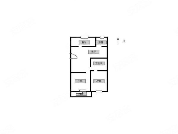 四季风景苑3室105万元难得的好户型急售