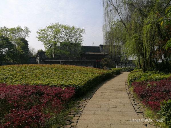 四合院园林别墅