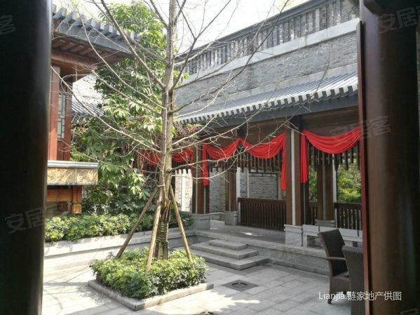 【多图】重庆中式园林四合院别墅带恒温游泳池占地5