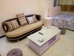 宝龙三期 精装一室一厅 干净全齐 温馨舒适免物业费 随时看房