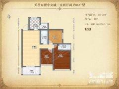 东盟商务区核心区精装修三室两厅两卫出租,看房有钥匙