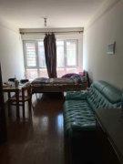 净月万科城独立一室一厅南向带阳台,可拎包即住,家具家电齐全