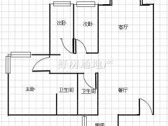 龙华周边亚洲豪苑3室2厅137平米精装修押二付三