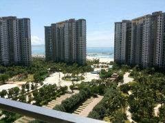 雅居乐清水湾瀚海银滩公寓2房120平低价出租,一线海景房