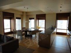 大猫豪宅为您银泰中心西北向下午看西山和日落