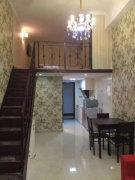 新城全新精装电梯复式阁楼跃层 周边配套齐全 物业专人管理