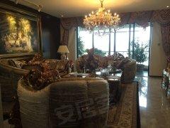 中信红树湾 超大阳台 采光充足 4室211平米 朝南看别墅景