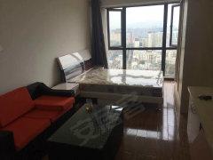 建设路精装单身公寓 全套家具家电1200, 视野好