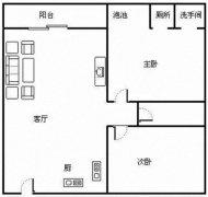 凤凰水城南岸河景大两房,可短租至16年10月,价格面议