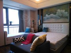 华远国际公寓 1室1厅 豪华装修 交通便利 高端住宅