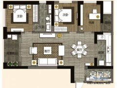 办公首选,3室2厅2卫,同一小区最低价