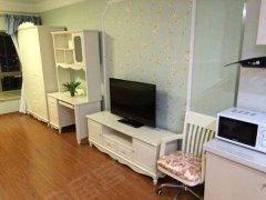 靠近万达核心商圈领城国际全新装修温馨单身公寓设全图片真实