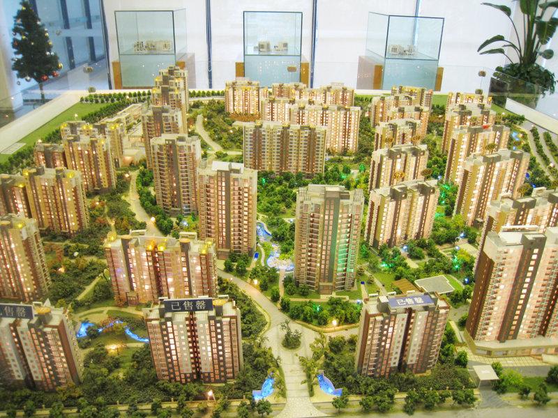 新城御景规划图 高清图片