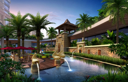 至尊东南亚风 日昇昌 天誉世界级度假酒店式园林