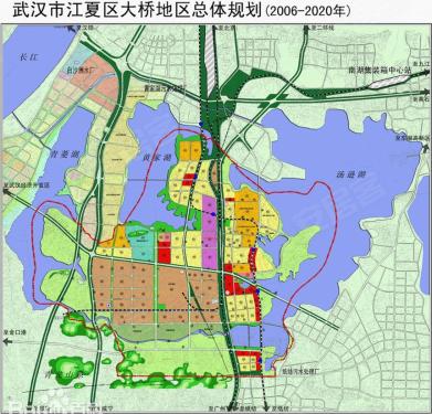 大桥新区规划图