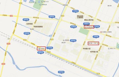 源:安居客首页地图找房-工作在北京生活在武清 秒杀高房价出行难