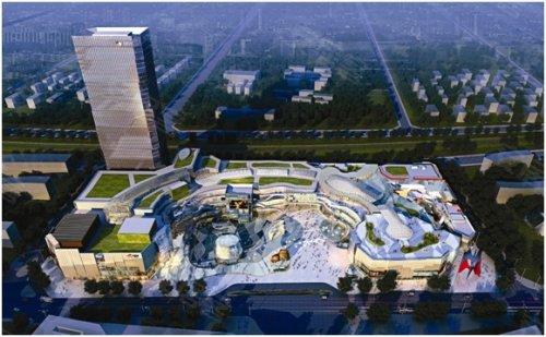 中国首个公园主题大悦城落户成都