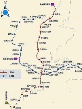 大连最终地铁线路图曝光 地铁盘是首选图片